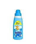 نرم کننده حوله و لباس یوموش Yumos با رایحه گل های بهاری 1 لیتری (آبی)