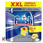 قرص ماشین ظرفشویی فینیش (finish) کوانتوم محصول آلمان 54 عددی