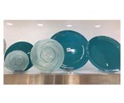 سرویس 25 پارچه غذاخوری شیشه ای آرکوفام مدل کویین آبی