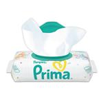 دستمال مرطوب پریما (Prima) درب دار کودک 56 برگی