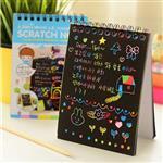 دفترچه جادویی رنگین کمانی سایز کوچک (10x14cm)