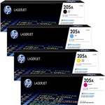 HP 205A Laser Cartridge Kit کیت کارتریج لیزری   اچ پی 205A رنگی