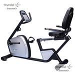 دوچرخه ثابت نشسته پشتی دار توربو فیتنس مدل-TF-218