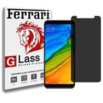 Ferrari Full Privacy Glass Screen Protector For Xiaomi Redmi Note 5 / 5 Plus