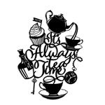 تابلو مینیمال رومادون طرح Always Tea Time کد 2050