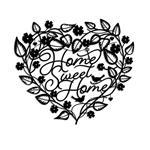تابلو مینیمال رومادون طرح Home Sweet Home کد 2051