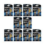 Duracell Turbo Max Duralock With Power Check AAA Battery Pack OF 40