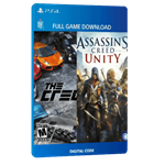 بازی دیجیتال Assassin's Creed Unity and The Crew Holiday Bundleand برای PS4