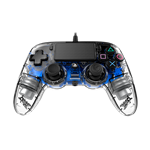 NACON Wired Illuminated Compact Controller - Crystal Blue - PS4