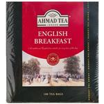 چای کیسه ای صبحانه انگلیسی احمد بسته 100 عددی