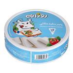 پنیر سفید مثلثی 16 عددی 240 گرمی روزانه