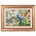 تابلو فرش دستباف سه پرنده برجسته سی پرشیا کد 901580