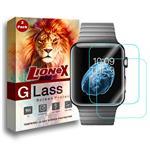 محافظ صفحه نمایش لایونکس مدل Ultra Powerful Shield مناسب برای اپل واچ 42 میلی متری مجموعه دو عددی