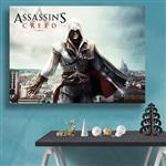 تابلو شاسی گالری استاربوی طرح  بازی Assassins Creed مدل Amazing Game 14