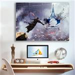 تابلو شاسی گالری استاربوی طرح بازی Assassins Creed مدل Amazing Game 16