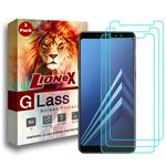 LioneX UPS Screen Protector For Samsung Galaxy A6 2018 Pack of 3