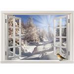 استیکر پنجره مجازی صالسو آرت طرح aftabe barfi az