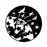 تابلو مینیمال رومادون طرح پرواز در رویاها کد 2527
