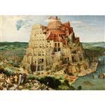 تابلو شاسی چاپ سی طرح برج بابل کد SD152