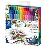 روان نویس 36 رنگ استدلر مدل Triplus Brilliant Colors