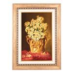 تابلو فرش دستباف دسته گل نرگس سی پرشیا کد 901610