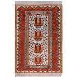 فرش دستبافت یک و نیم متری تولیدی هریس کد 100993
