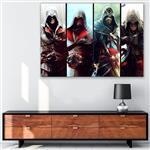 تابلو شاسی گالری استاربوی طرح بازی Assassins Creed مدل Odyssey Origins 01