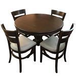 ست میز و صندلی ناهار خوری اسپرسان چوب مدل sm04