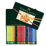 مداد رنگی فابر کاستل پلی کروموس – 60 رنگ جعبه فلزی