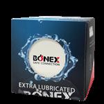 کاندوم Extra Lubricated 12pcs بونکس