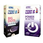 کاندوم کدکس مدل Power Be Active بسته 12 عددی به همراه کاندوم کدکس مدل BIG DOTS بسته 12 عددی
