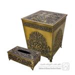 سطل و دستمال هندی آنتیک کد 3520