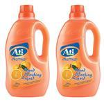 مایع دستشویی آتی مدل 3101040220 Orange وزن 2200 گرم بسته 2 عددی