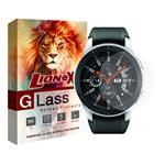 محافظ صفحه نمایش گلس لایونکس مدل UPS مناسب برای ساعت سامسونگ Galaxy Watch 46mm