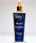 اسپری خوشبو کننده و آبرسان بدن مردانه هیلدا بیوتی مدل Bleu de Chanel Paris حجم 250 میلی لیتر