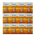 باتری نیم قلمی فیلیپس مدل R03 MICRO بسته 24 عددی