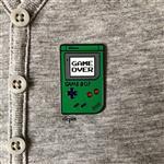 Game Boy Pin - Green