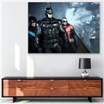 تابلو شاسی گالری استاربوی بازی طرح Batman Arkham Knight مدل Game 12