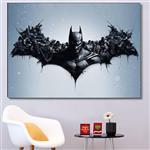 تابلو شاسی گالری استاربوی بازی طرح Batman Arkham Knight مدل Game 15