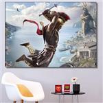 تابلو شاسی گالری استاربوی طرح بازی Assassins Creed مدل Game 20