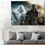 تابلو شاسی گالری استاربوی طرح Assassins Creed مدل بازی 04
