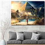 تابلو شاسی گالری استاربوی طرح Assassins Creed مدل بازی 09