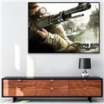 تابلو شاسی گالری استاربوی طرح  Sniper Elite مدل بازی 12