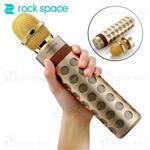 میکروفون بی سیم و اسپیکر بلوتوث راک اسپیس rock space RAU0582 Karaoke...