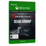 بازی دیجیتال Gears of War 4 Deluxe Airdrop Pack Xbox Play Anywhere برای Xbox One