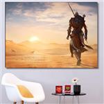 تابلو شاسی گالری استاربوی طرح بازی Assassins Creed مدل Game 030