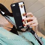 قاب فانتزی گوچی زنبور Apple iPhone 6-6s Gucci Bee Case دارای بند آویز