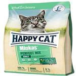 غذای خشک گربه  هپی کت مدل minkas mix وزن 10کیلوگرم