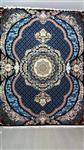 فرش طرح یگانه آبی 700 شانه 12 متری