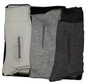 پک 12 عددی جوراب ساق بلند مردانه